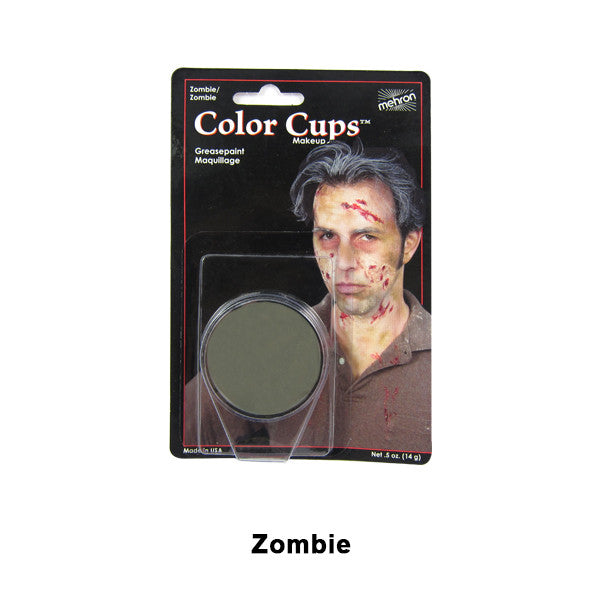 Mehron Color Cups - Zombie Flesh (CCC-Z) | Camera Ready Cosmetics - 17