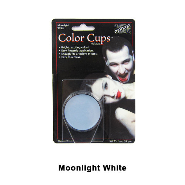 Mehron Color Cups - Moonlight White (CCC-MW) | Camera Ready Cosmetics - 9