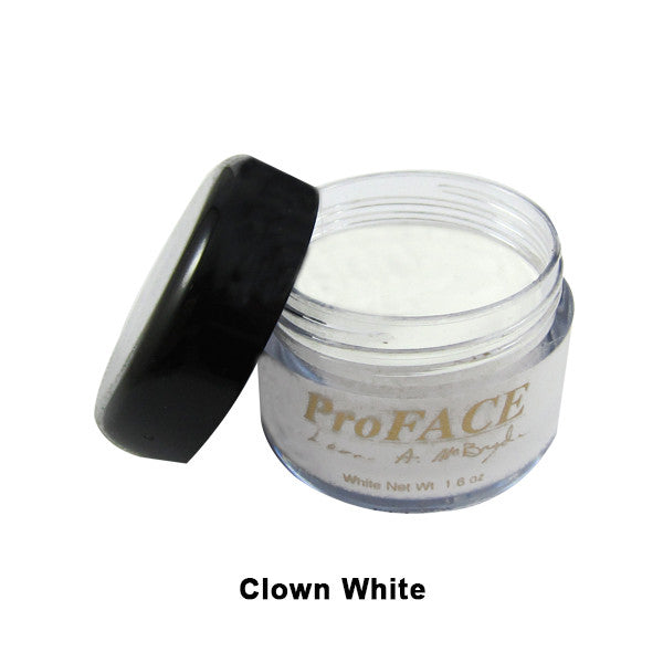 Mehron ProFACE Clown Base - Clown White / 1.2oz | Camera Ready Cosmetics - 6