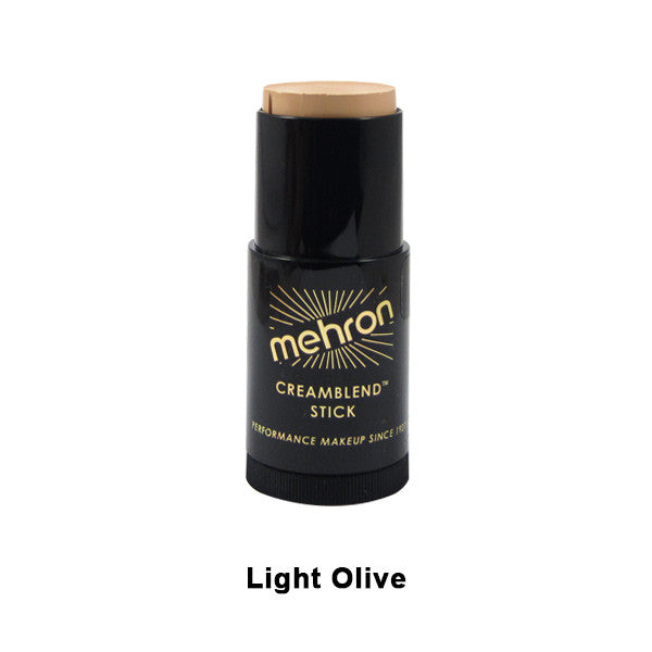 Mehron CreamBlend Stick - Light Olive (400-OS2) | Camera Ready Cosmetics - 35