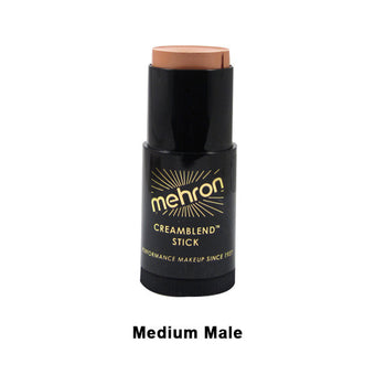alt Mehron CreamBlend Stick Medium Male (400-6.5B)