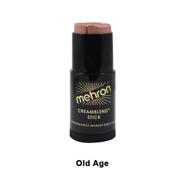 Mehron CreamBlend Stick - Old Age (400-9.5B) | Camera Ready Cosmetics - 47