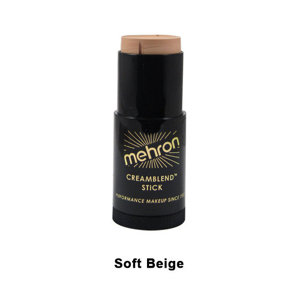 Mehron CreamBlend Stick - Soft Beige (400-TV4) | Camera Ready Cosmetics - 58