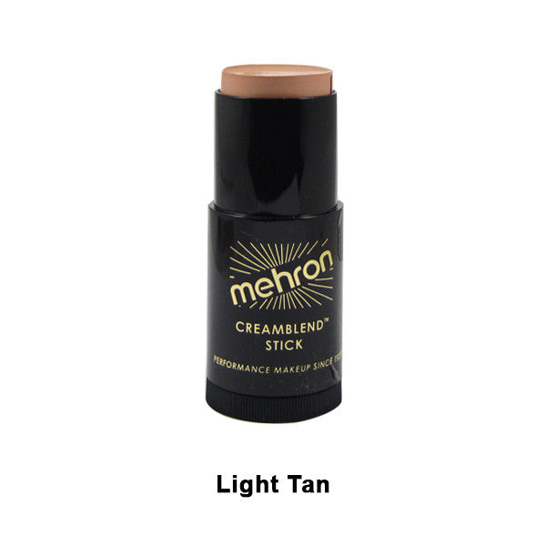 Mehron CreamBlend Stick - Light Tan (400-TV6) | Camera Ready Cosmetics - 36