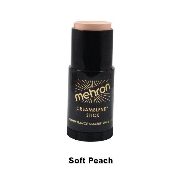 Mehron CreamBlend Stick - Soft Peach (400-22A) | Camera Ready Cosmetics - 59