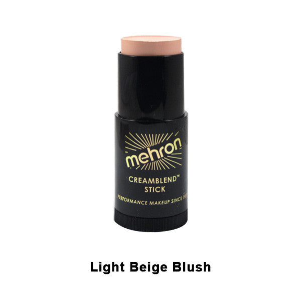 Mehron CreamBlend Stick - Light Beige Blush (400-24A) | Camera Ready Cosmetics - 27