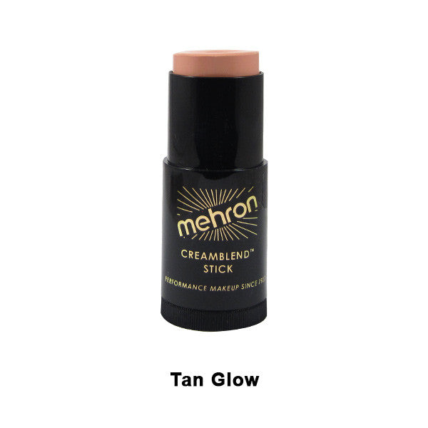 Mehron CreamBlend Stick - Tan Glow (400-26A) | Camera Ready Cosmetics - 60