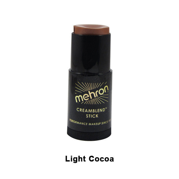 Mehron CreamBlend Stick - Light Cocoa (400-4C) | Camera Ready Cosmetics - 30