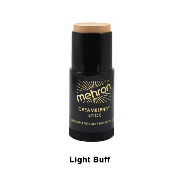 Mehron CreamBlend Stick - Light Buff (400-22) | Camera Ready Cosmetics - 28