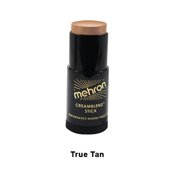 Mehron CreamBlend Stick - True Tan (400-TT) | Camera Ready Cosmetics - 61