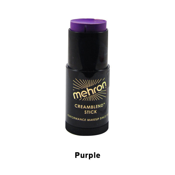 Mehron CreamBlend Stick - Purple (400-P) | Camera Ready Cosmetics - 51