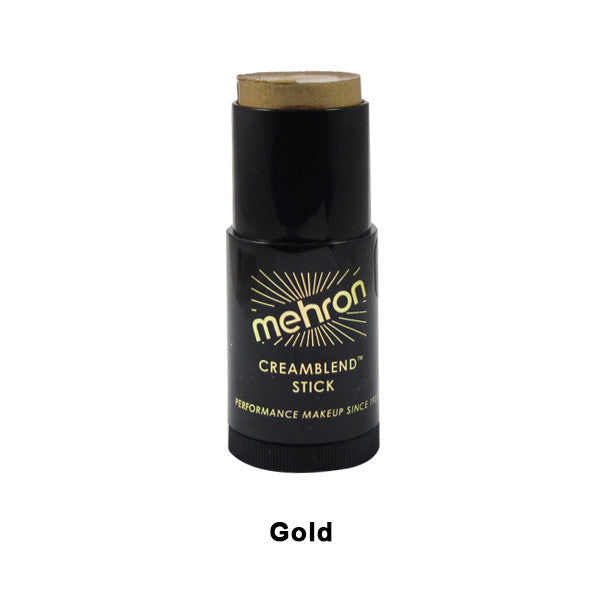 Mehron CreamBlend Stick - Gold (400-GD) | Camera Ready Cosmetics - 22