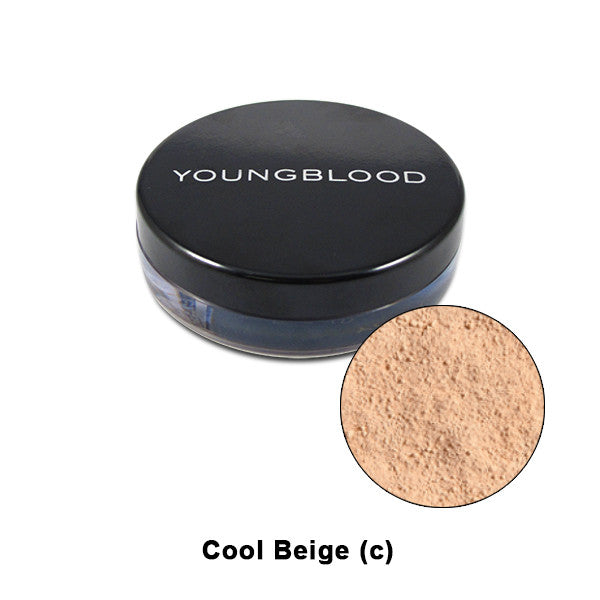 Youngblood Natural Mineral Loose Foundation - Cool Beige | Camera Ready Cosmetics - 4