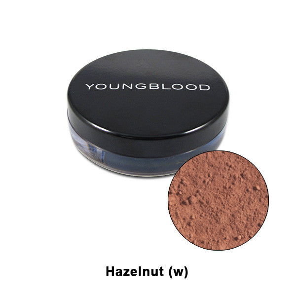 Youngblood Natural Mineral Loose Foundation - Hazelnut | Camera Ready Cosmetics - 6