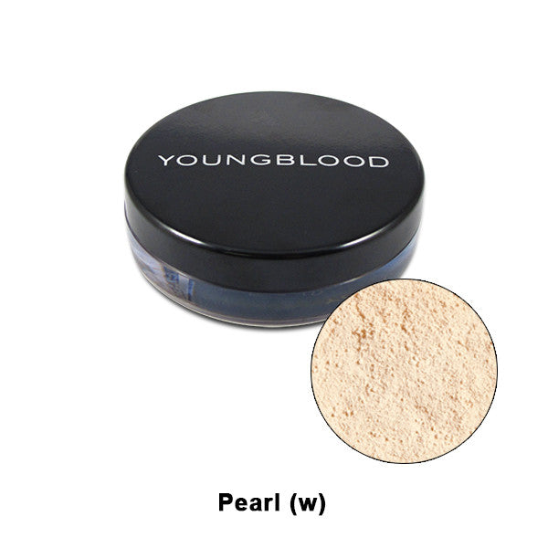 Youngblood Natural Mineral Loose Foundation - Pearl | Camera Ready Cosmetics - 11