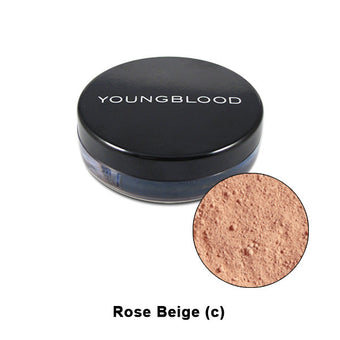 Youngblood Natural Mineral Loose Foundation - Rose Beige | Camera Ready Cosmetics - 12