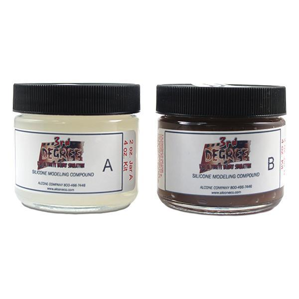 alt 3rd Degree Silicone Modeling Compound Dark / 4oz.