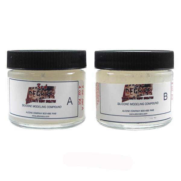 3rd Degree Silicone Molding Compound - Ice / 4oz. | Camera Ready Cosmetics - 9