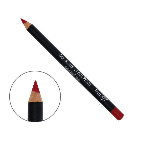 Ben Nye MagiColor Creme Pencil - Ruby Red  (MC-3) | Camera Ready Cosmetics - 5