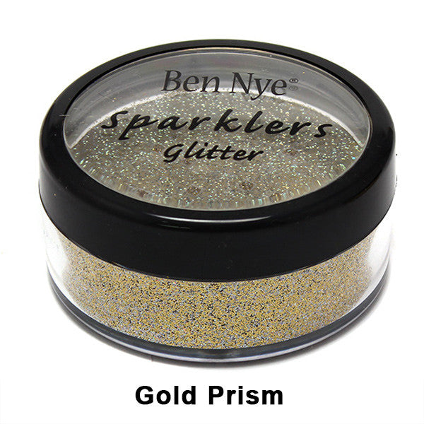 Ben Nye Sparklers Loose Glitter - Gold Prism / Large .5oz/14gm | Camera Ready Cosmetics - 31