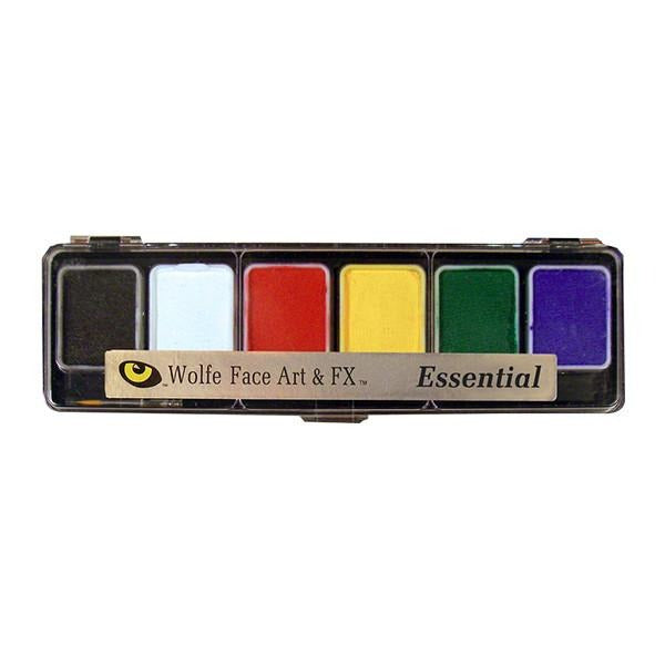 Wolfe FX Hydrocolor Palette - Essential Color Palette / 6-Color | Camera Ready Cosmetics - 2