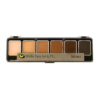 Wolfe FX Hydrocolor Palette - Skinz/Flesh Color Palette / 6-Color | Camera Ready Cosmetics - 10