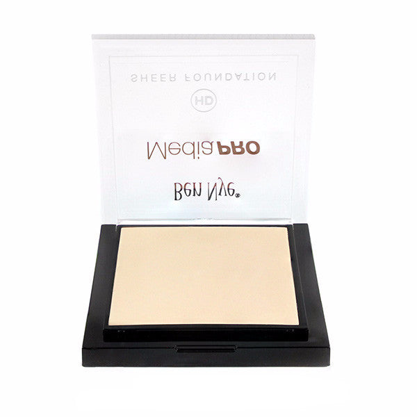Ben Nye MediaPRO HD Sheer Foundation - Pale Bisque (HD-104) | Camera Ready Cosmetics - 47