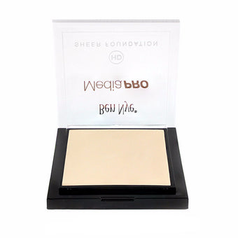 alt Ben Nye MediaPRO HD Sheer Foundation Pale Bisque (HD-104) (Limited Availability)
