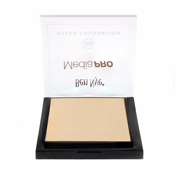 Ben Nye MediaPRO HD Sheer Foundation - Cameo Beige (HD-108) | Camera Ready Cosmetics - 29