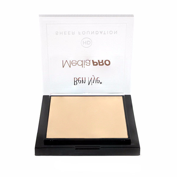 Ben Nye MediaPRO HD Sheer Foundation - Silky Peach (HD-112) | Camera Ready Cosmetics - 65