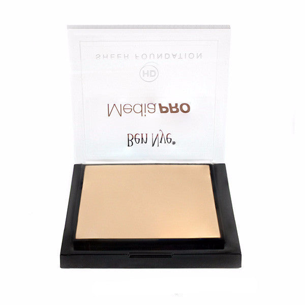 Ben Nye MediaPRO HD Sheer Foundation - Blush Beige (HD-124) | Camera Ready Cosmetics - 21