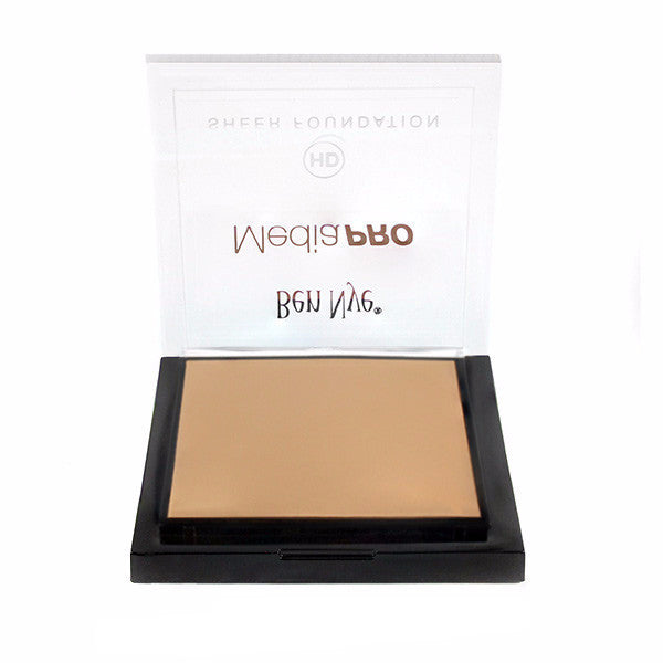 Ben Nye MediaPRO HD Sheer Foundation - Light Olive 1 (HD-144) | Camera Ready Cosmetics - 40