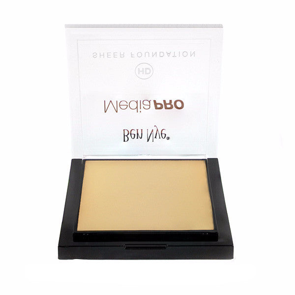 Ben Nye MediaPRO HD Sheer Foundation - Vanilla Almond (HD-495) | Camera Ready Cosmetics - 76