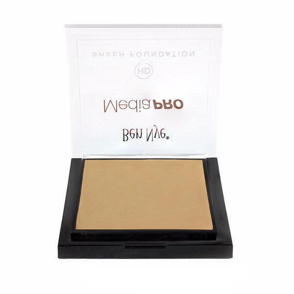 Ben Nye MediaPRO HD Sheer Foundation - Shinsei Fair (HD-505) | Camera Ready Cosmetics - 61