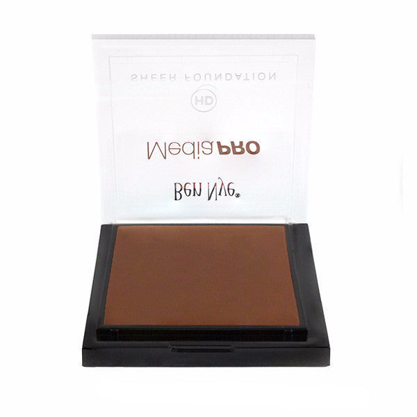 Ben Nye MediaPRO HD Sheer Foundation - Brown Suede (HD-918) | Camera Ready Cosmetics - 27