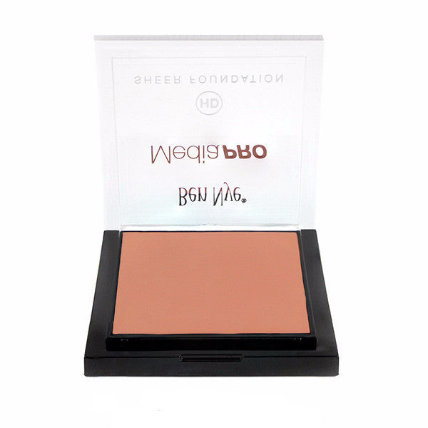 Ben Nye MediaPRO HD Sheer Foundation - Natural Fair (HD-210) | Camera Ready Cosmetics - 43