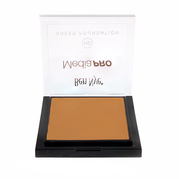 Ben Nye MediaPRO HD Sheer Foundation - Bamboo 4 (HD-494) | Camera Ready Cosmetics - 9