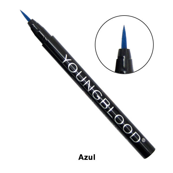 Youngblood Eye-Mazing Liquid Liner Pen - Azul (blue) | Camera Ready Cosmetics - 2