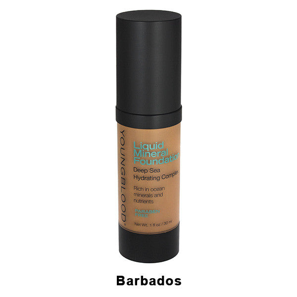 Youngblood Liquid Mineral Foundation - Barbados | Camera Ready Cosmetics - 2