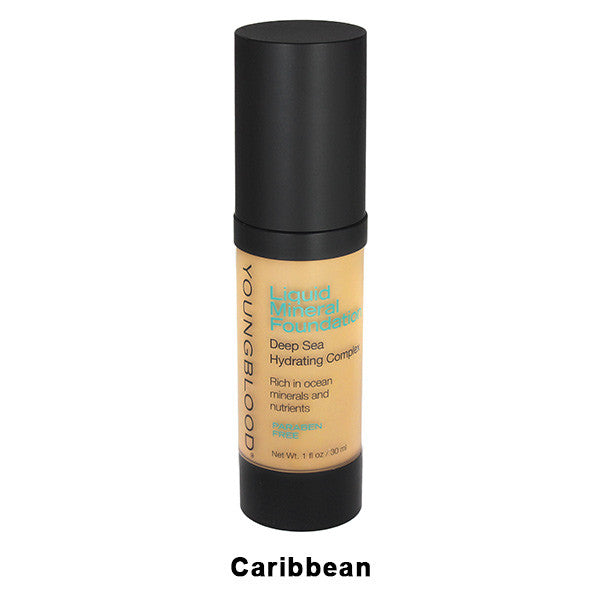 Youngblood Liquid Mineral Foundation - Caribbean | Camera Ready Cosmetics - 3