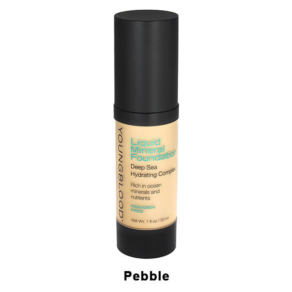 Youngblood Liquid Mineral Foundation - Pebble | Camera Ready Cosmetics - 5