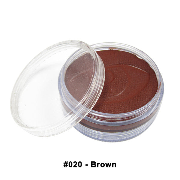 Wolfe FX Hydrocolor Cake - Essential Colors - Brown #020 / Medium 45g/1.5oz | Camera Ready Cosmetics - 8