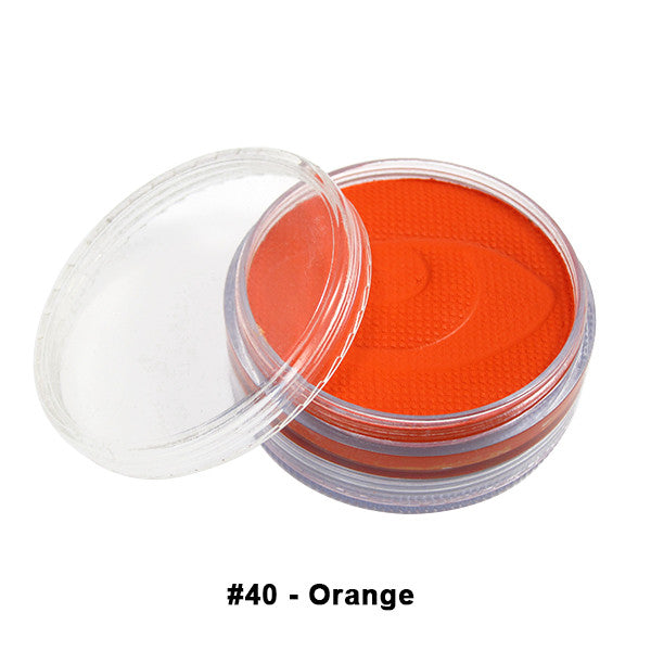 Wolfe FX Hydrocolor Cake - Essential Colors - Orange #040 / Medium 45g/1.5oz | Camera Ready Cosmetics - 12
