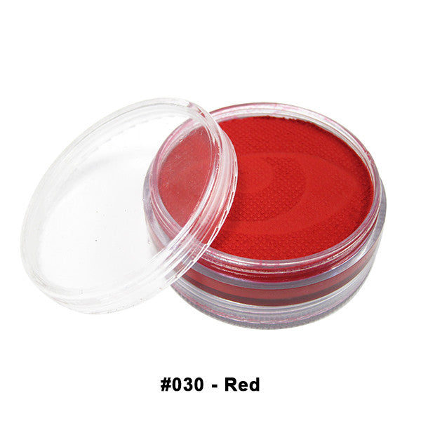Wolfe FX Hydrocolor Cake - Essential Colors - Red #030 / Medium 45g/1.5oz | Camera Ready Cosmetics - 13
