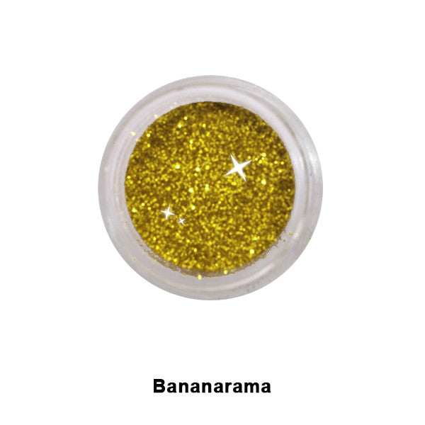Eye Kandy Glitter Sprinkles - Bananarama (Fine) | Camera Ready Cosmetics - 4