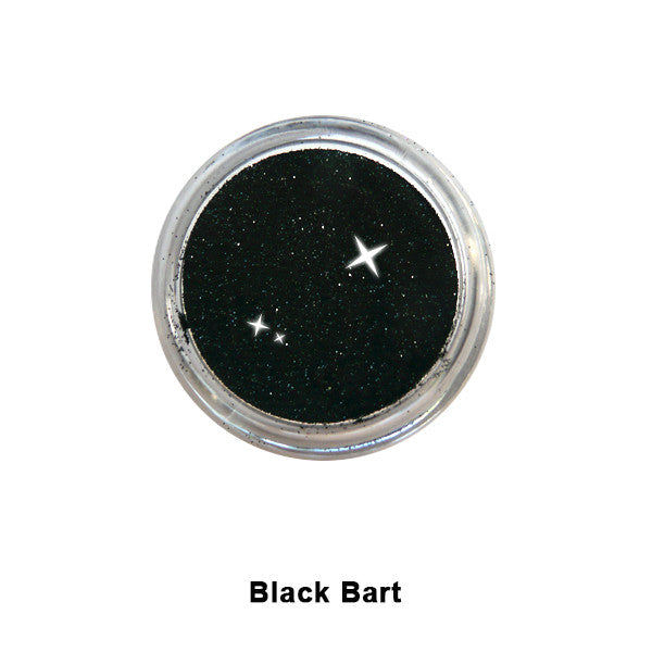 Eye Kandy Glitter Sprinkles - Black Bart (Super Fine) | Camera Ready Cosmetics - 6
