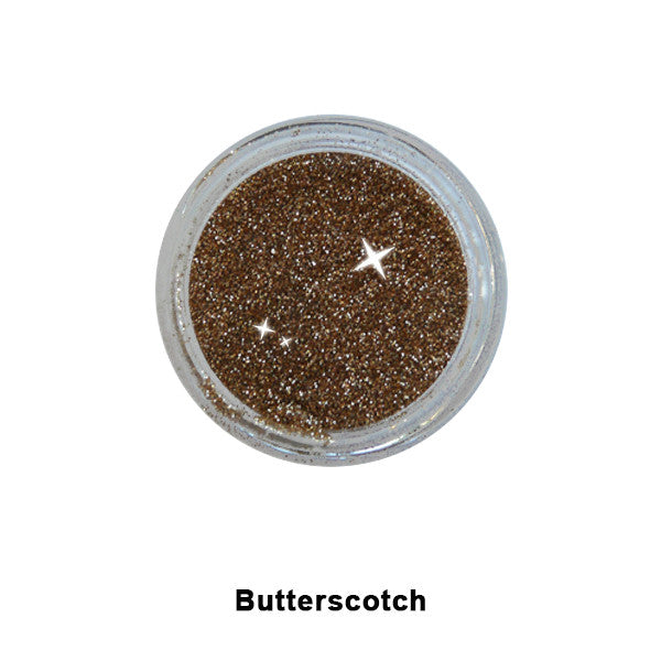 Eye Kandy Glitter Sprinkles - Butterscotch (Super Fine) | Camera Ready Cosmetics - 8