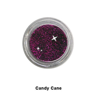 Eye Kandy Glitter Sprinkles - Candy Cane (Super Fine) | Camera Ready Cosmetics - 10