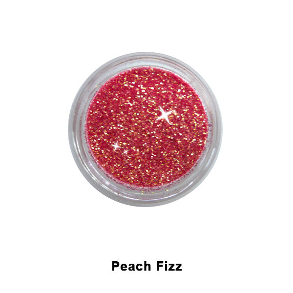 Eye Kandy Glitter Sprinkles - Peach Fizz (Sugar) | Camera Ready Cosmetics - 33
