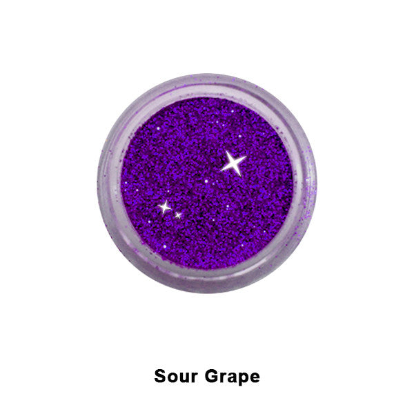 Eye Kandy Glitter Sprinkles - Sour Grape (Fine) | Camera Ready Cosmetics - 44